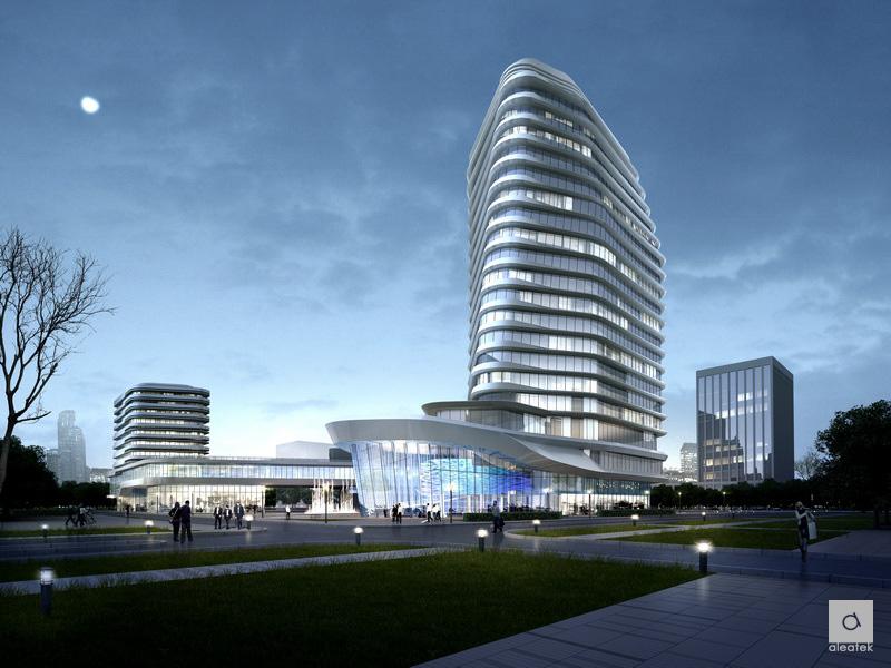 铠龙东方汽车有限公司总部研发大楼建筑设计