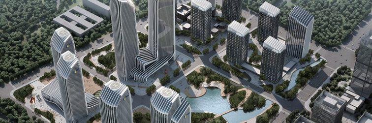 济南汉峪金融商务中心B区