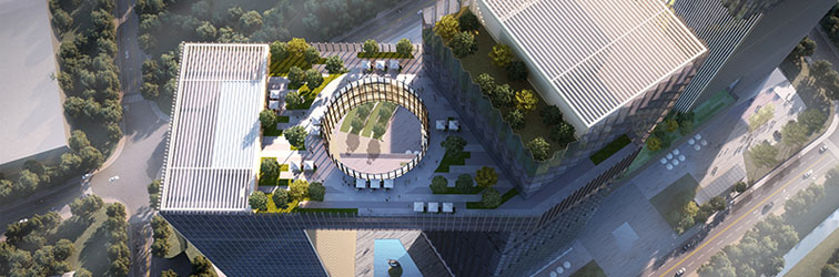 济南汉峪金谷C区概念方案